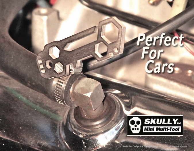 SKULLY can Tighten a hose clamp.