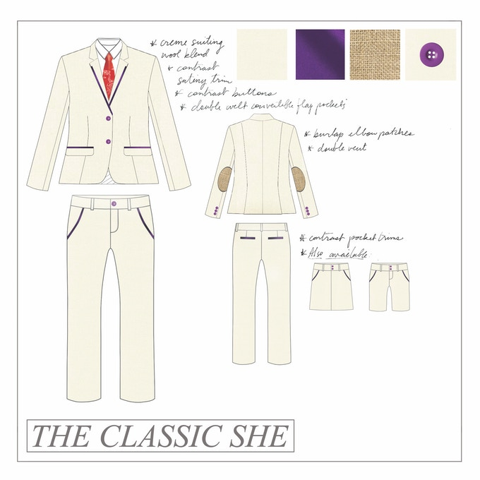 """The Classic She"" - SUIT HER by PFZ"