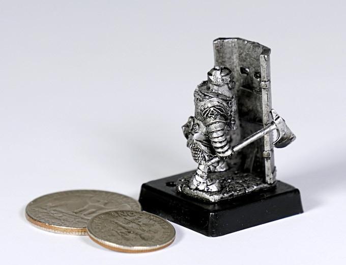 (D2) Dwarf shield ax