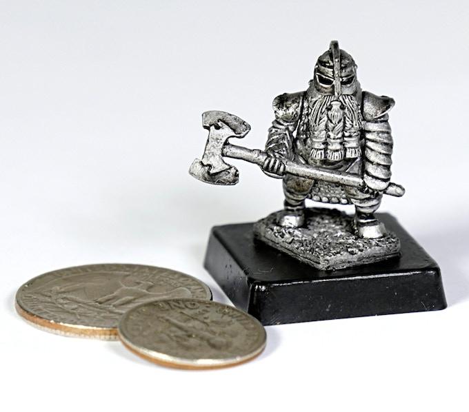 (D5) Dwarf with ax 2