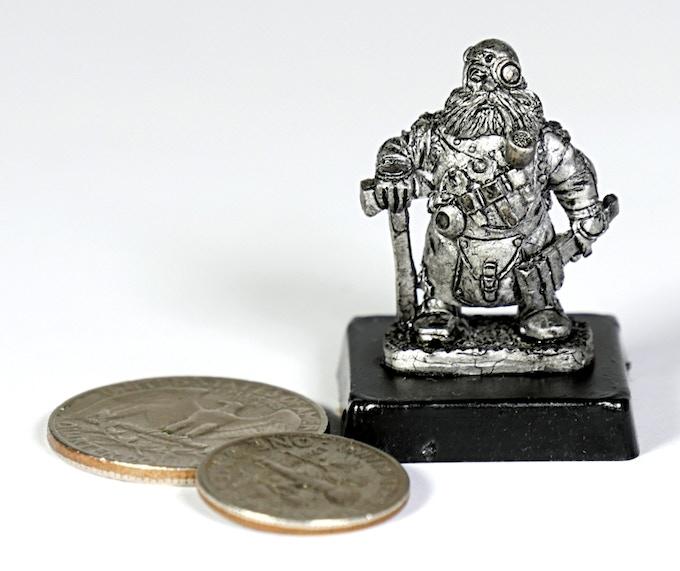 (D8) Dwarf leader