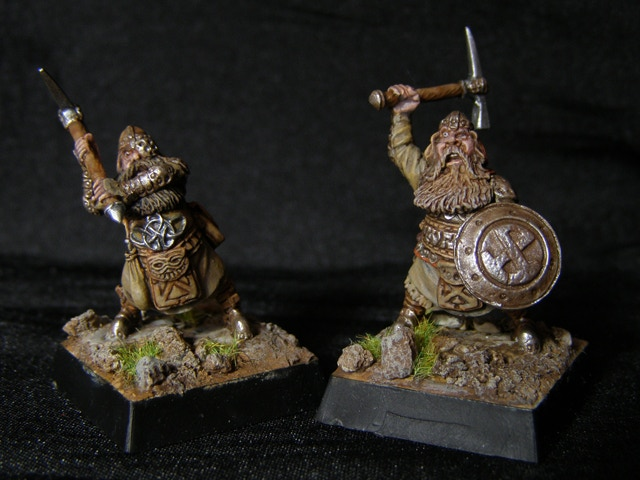 Miniatures are supplied unpainted.