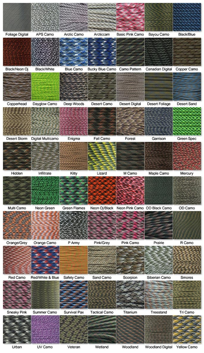 Camoflauge Colors