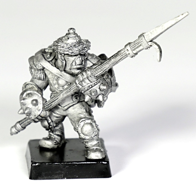 (OH1) If you pledge less than the $100 you can still get the Orc Hunter (OH1) by adding the price $6!