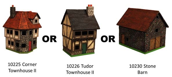 choose one building for this pledge level.
