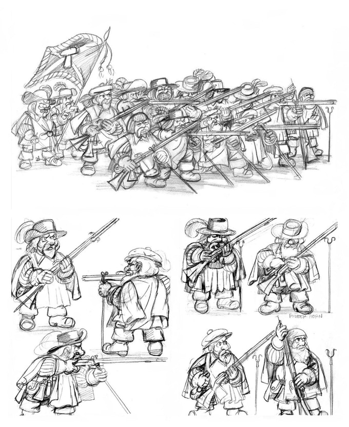The Third Wave: The Dwarf Musketeer Forlorn Hope