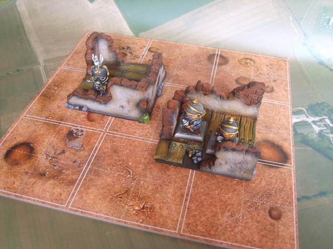 Ruined Foundations (supplied unpainted)