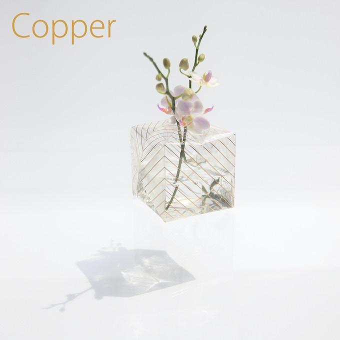Copper / Transparent film / 80mm(W) x 80mm(D) x 80mm(H)