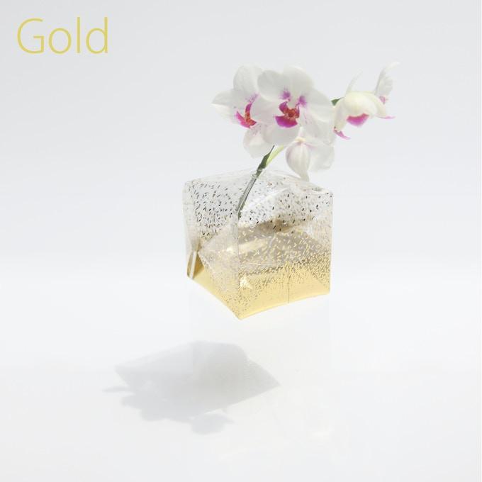 Gold / Transparent film / 80mm(W) x 80mm(D) x 80mm(H)