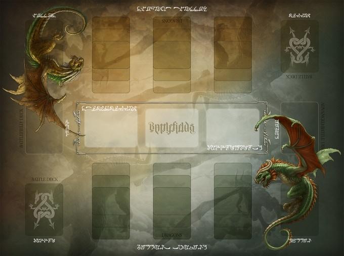 "Official Draco Magi Playmat (18""X24"")"