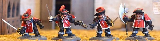 CG1 Cadinal's Guard Ogres $42.50.
