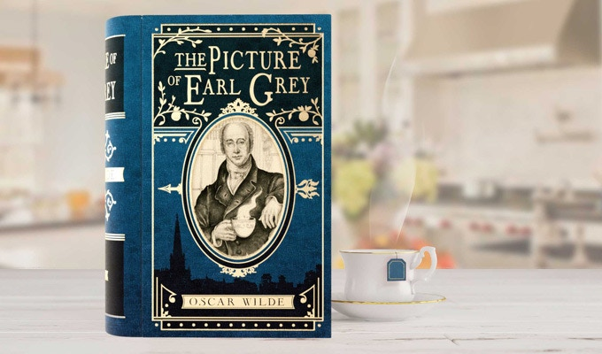 Charles Grey, aka The Earl Grey, poses for the cover.