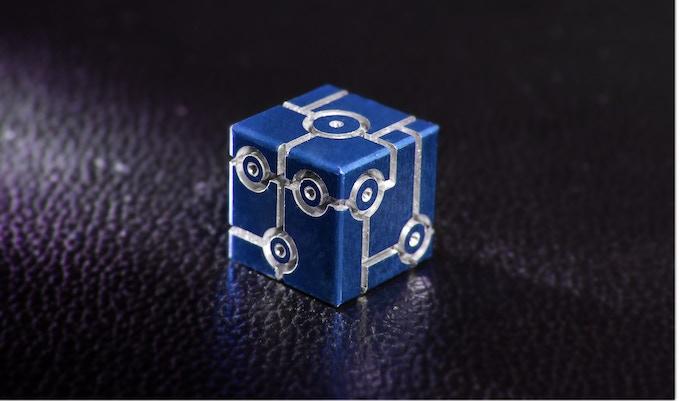 Blue adonized