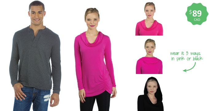 Made in the USA — Ethical fashion pieces — Sizes xs-xxl