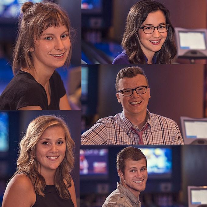 Crew missing from photo: Holly Rains, Casey Hartig, Adam Huber, Patrick Frenking, Taylor Bevirt & Candice Moran