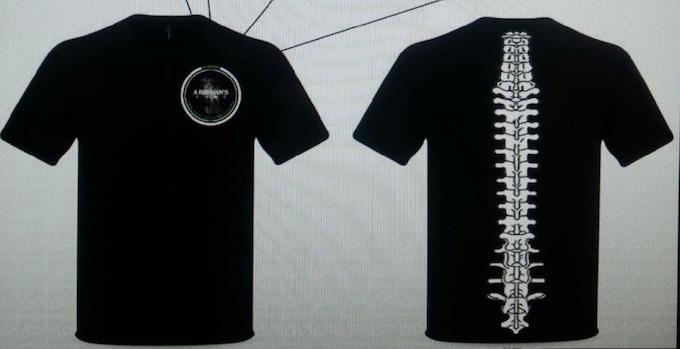 A Big Man's Game - Backbone T-shirt