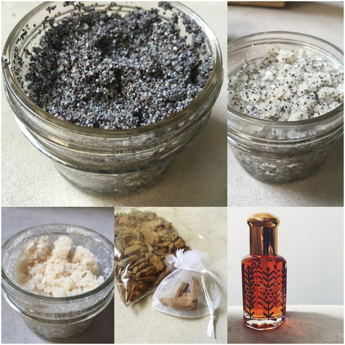 Lorraine Khalil Face and Body Scrubs