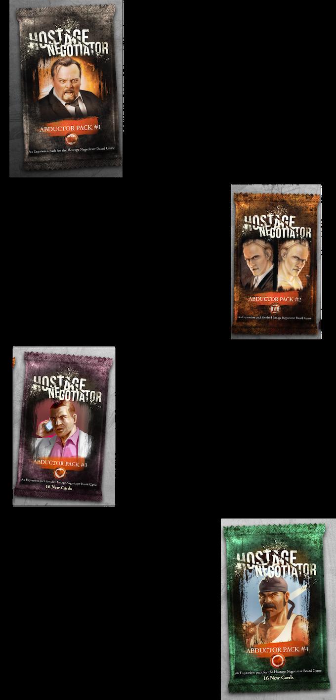 Hostage Negotiator 2nd printing by A J  Porfirio — Kickstarter