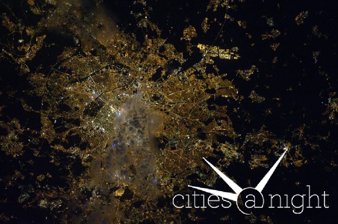 Paris from the ISS - Gateway to Astronaut Photography of Earth
