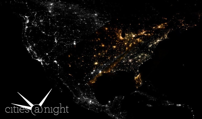 Our USA Mosaic with pictures from the Gateway to Astronaut Photography of Earth