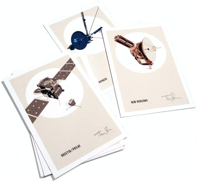 """4""""x6"""" Spacecraft Portrait Print"""