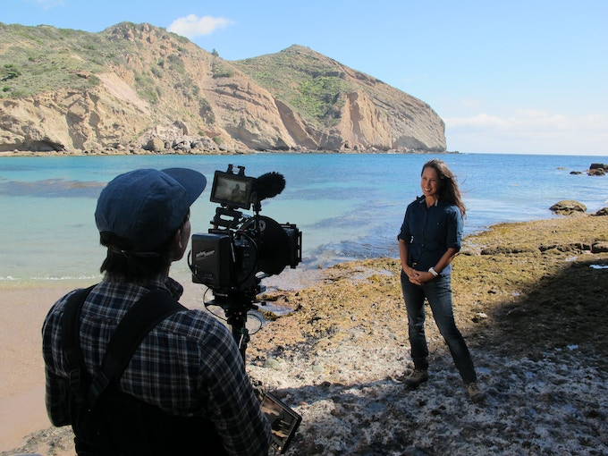 Lotus Vermeer of The Nature Conservancy talks about the success of preservation efforts on Santa Cruz Island.