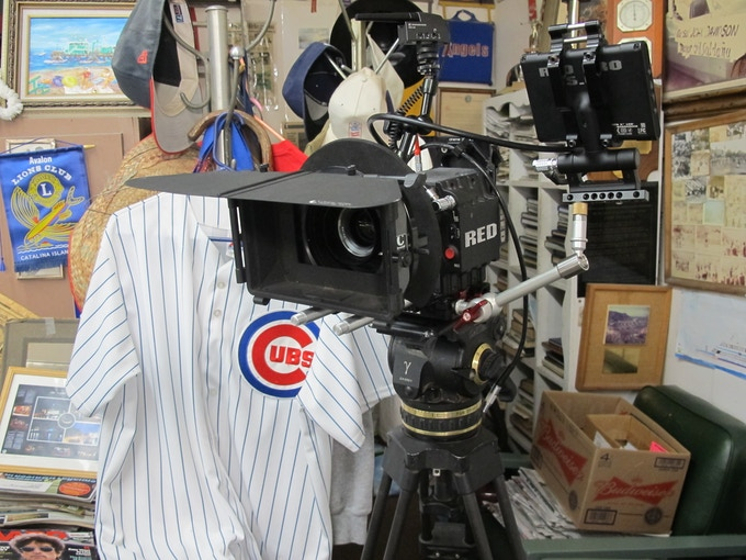 Lolo Saldana's barber shop on Santa Catalina Island pays homage to the Chicago Cubs and their 30 years of spring training on the island. 24 Major LeagueHall of Famers played on Catalina.