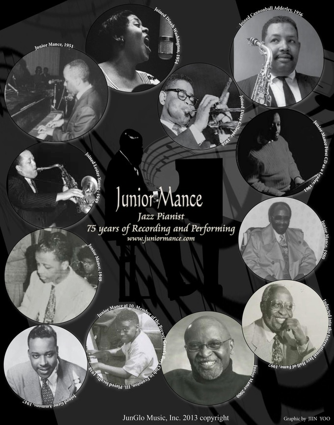 "Junior Mance ""75 Years of Performing and Recording"""