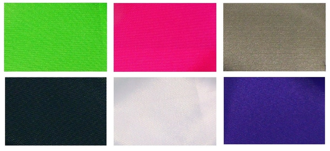 Hoversled Fabric Colors