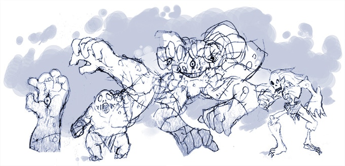 Concept sketches by VCR-Cyzir!