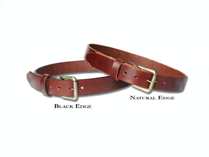 Burgundy Options- tasteful black edge or natural edge