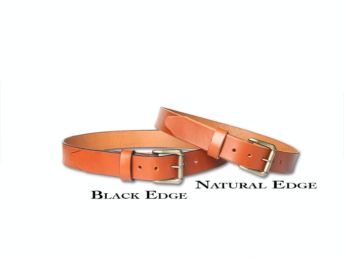 Chestnut Options- tasteful black edge or natural edge