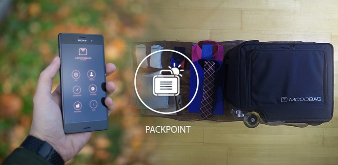 Modobag has partnered with PackPoint, the smart packing app that allows youto create lists of items to pack for your destination.