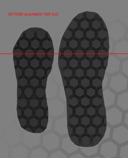 Each shoe sole will have the center of the pedal directly aligned with the balls of the riders foot for optimal pedal positioning.