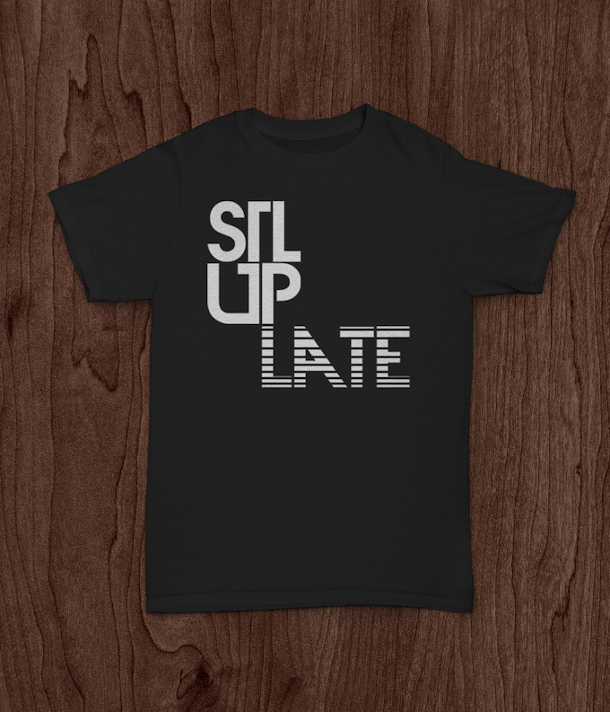 Limited amount of t-shirts available to backers only.