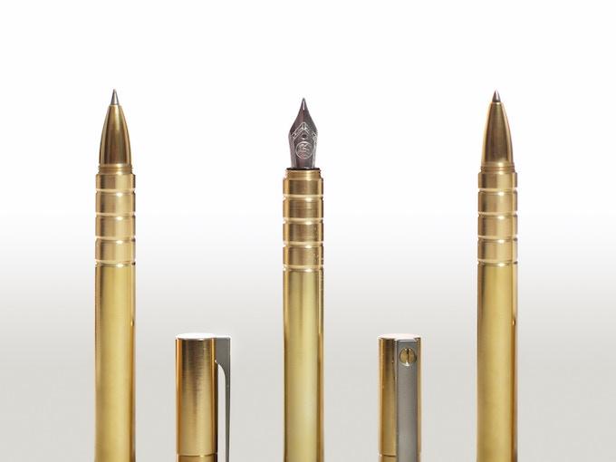 Brass Options - Pilot G2™ Gel Ink, Fountain Pen, Space Pen™
