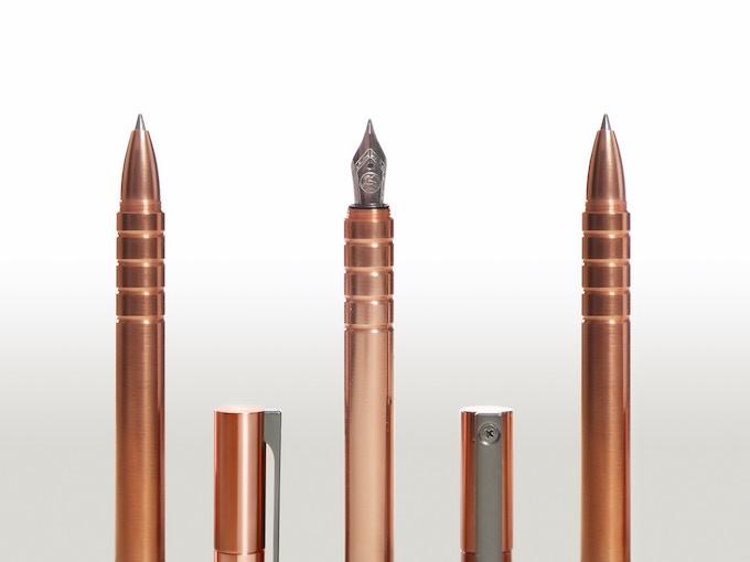 Copper Options - Pilot G2™ Gel Ink, Fountain Pen, Space Pen™