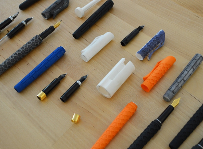 Just a few of the prototypes created and tested
