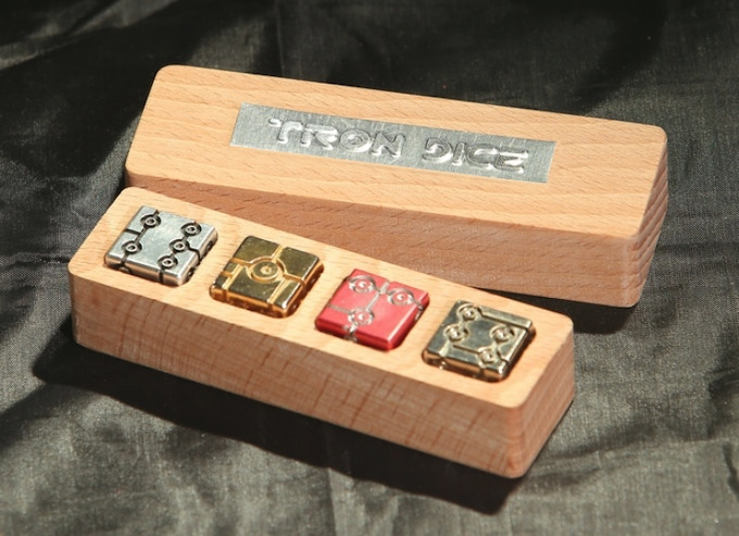 The original box is made of natural beech wood