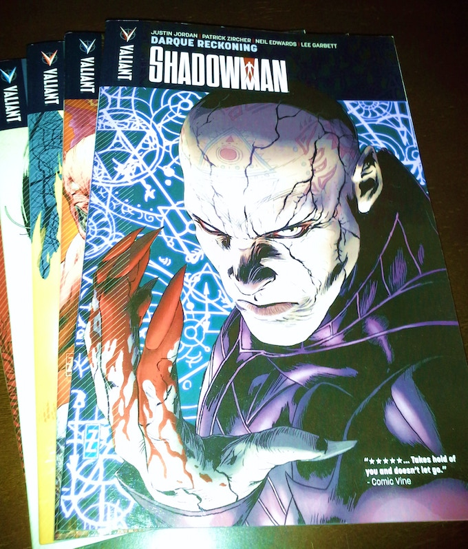 Shadowman Vol.1-5 Trade Paperback Set