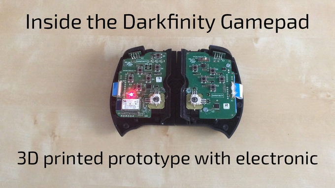 Running prototype with electronic.
