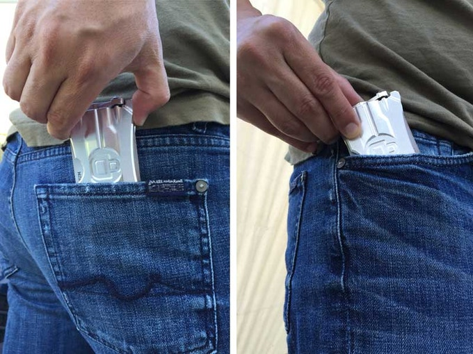 Fits in any pocket.