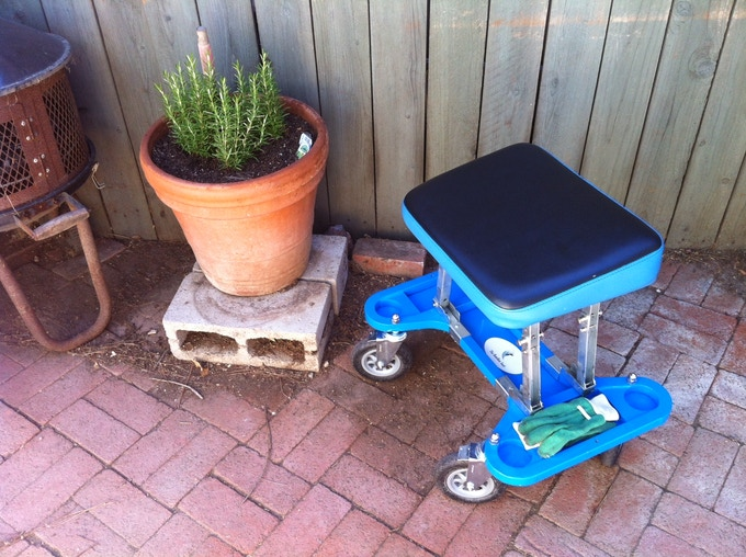 The AllTerrainBee BumBee Special [with Solid or Pneumatic Tires] is Perfect for the broken & uneven surfaces often encountered in the Garden, Garage, Driveway & other Outdoor Areas around Your Home!