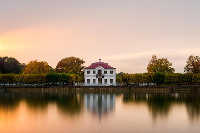 Autumn House in Peterhof