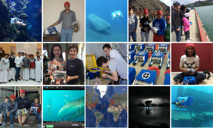 A glimpse of the OpenROV community