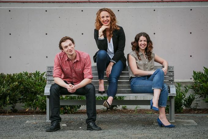 Co-founders Gavin Reub, Norah Elges, & Erin Bednarz
