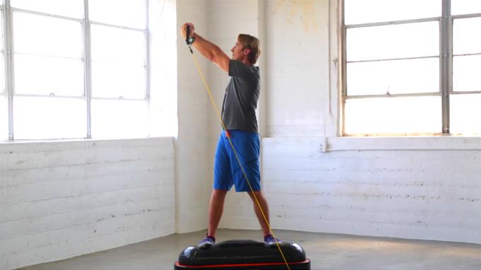 Exercise #505: Shoulder to shoulder rotation (high)