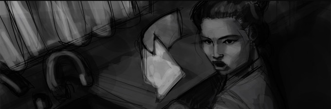 Story Board/Scene BTi Pt.1 - Leann Lee calling to her daughter