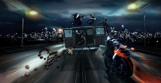 WARRIOR NUN: Vehicle Chase