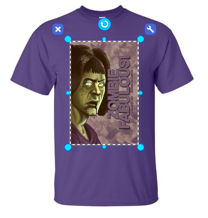 Zombie fabulous 2 aretha a dream of soul by ned for T shirt logo design software
